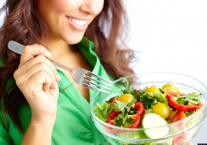 salad, sayur, makanan sihat