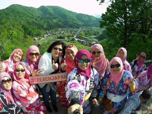 Jepun, visiting Japan, Visiting ShirakawaGo
