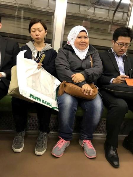 train jepun, subway tokyo