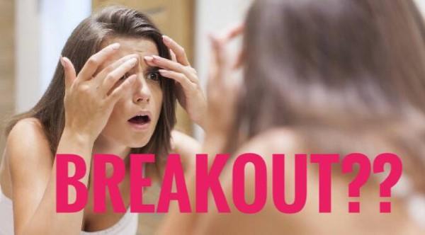 kulit rosak, breakout, salah produk